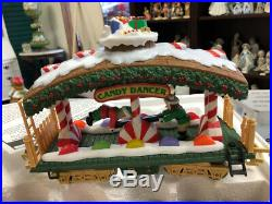 New Bright The HOLIDAY EXPRESS Animated Christmas Train Set #380 1996 G Scale