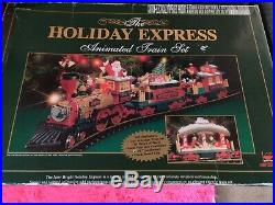New Bright The Holiday Express Animated Christmas Train Set