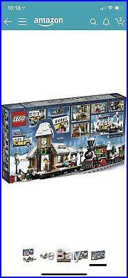New LEGO Xmas Sets 10254 Winter Holiday Train & 10259 Village Station + Motors