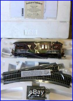 New On30 Hawthorne Village Bachmann Thomas Kinkade Christmas Express Train Set