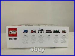 New, Sealed LEGO 4002016 50 Years On Track Employee Christmas Gift