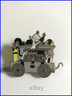 Nightmare Before Christmas Disney Pin 8 Lot Train Set
