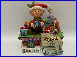Peanuts Jim Shore Charlie Brown Christmas Figurine Train Set Exclusive Sally