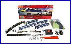 R1176 Hornby OO Gauge Eurostar Train Starter Set DCC Ready Christmas Gift Boxed