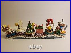 RARE Danbury Mint Tweety's Cwristmas Twain Christmas Train Complete Set of 6
