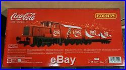 RARE HORNBY R1233 Coca Cola Christmas Electric Train Set NEW