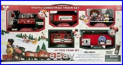 REMOTE CONTROL Disney Parks Christmas Train Set with Disney Characters 2016