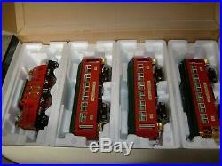 Rare Mth Christmas Contemporary Electric Std Guage Tinplate Traditions Train Set