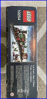 Retired Lego Creator Winter Christmas Holiday Train (10254) Complete