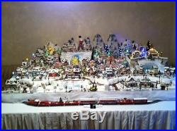 Rudolph Christmas Town Express Train Collection Set of 10 Individual Trains