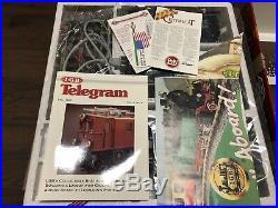 Santa's BLUE CHRISTMAS G Scale BIG Train Set LGB G-Scale Germany 72545 MINT