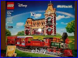 Sealed Lego 71044 Disney Train And Main Street U. S. A Station! Christmas Train