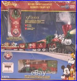 Sealed Lionel Disney Christmas Remote Train Set 6-82716