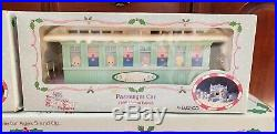 Sugar Town Express Christmas Train Set Precious Moments / 2 Extra Cars FREE SHIP
