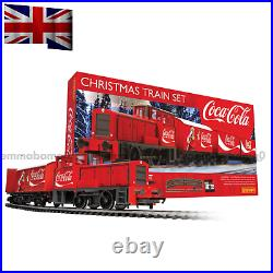The Coca Cola Christmas Model Train Set Collectable Best Gift Holiday Display