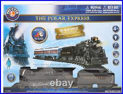 The Polar Express Lionel Train Set 712055 with Remote & Sound Christmas Train 38PC