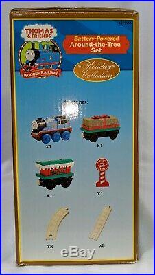 Thomas & Friends Train Around-the-tree Set Plays Holiday tune Jingle Bells