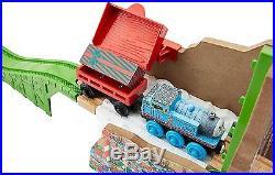 Thomas & Friends Wooden Railway Train Set Playset Cargo Car Santa Christmas Gift