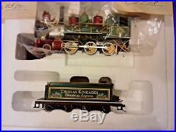 Thomas Kinkade Christmas Express Train Set Hawthorne Village Bachmann NEW