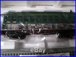 Thomas Kinkade Christmas Express Train Set Hawthorne Village On 30 NIB