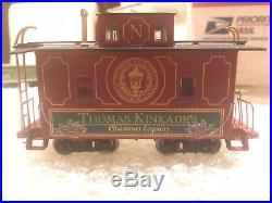 Thomas Kinkades Christmas Express Train On30/HO/O Gauge Set