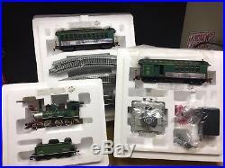 Thomas Kinkaid Christmas Express train set. Complete
