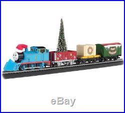 Thomas The Tank Christmas Express HO Scale Ready to Run Electric Train Kids Set