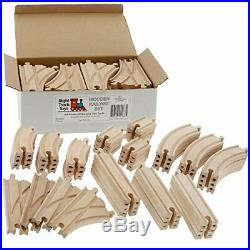 Thomas and Friends Wooden Railway Train Tracks Set 52 Piece Pack Curved Play Toy