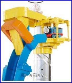 Toy Train Set Thomas and Friends Kids Trackmaster Sky High Bridge Jump Xmas Gift