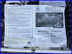 UK STOCK Stunning HOLIDAY EXPRESS Animated Train Set #384 Christmas NEW BRIGHT