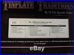 Used MTH Trains Tinplate Set, No 10 Christmas Contemporary Set, 10-1190-1 (D)