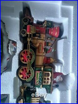 Vintage 1997 New Bright Christmas The Holiday Express Animated Train Set No. 380