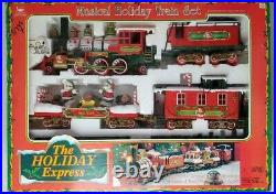 Vintage Animated The Holiday Express Musical Holiday Train Set (1996)