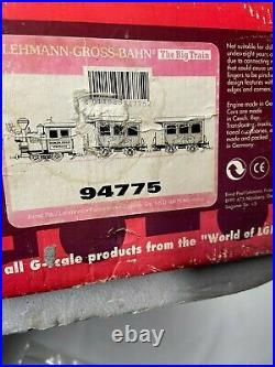 Vintage LGB Lehmann 94775 North Pole Express Rudolph Train Set Original Box