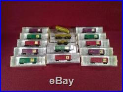 Z Mtl Complete 12 Days Of Christmas Train Set F7a/b, 12 Cars & Caboose Vg/ob